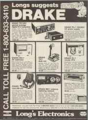 Long's Electronics - Birmingham, AL advertisement _ Radio Amateur Magazine March, 1979