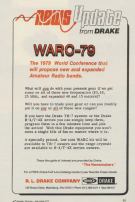 Drake WARC-79 News - 73 Magazine March, 1979