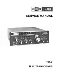 Drake TR-7 Service Manual